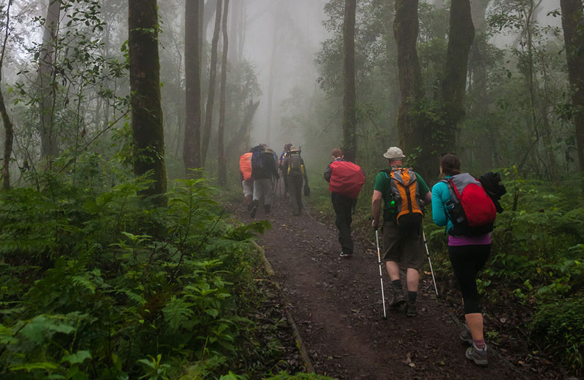 Machame Route – 6 days